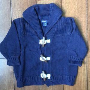Baby Gap shawl collar cardigan